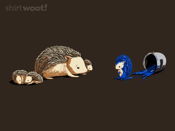 The Original Blue Hedgehog T Shirt