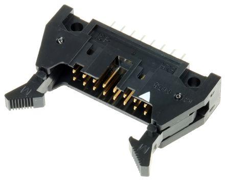 Hirose , HIF3BA, 16 Way, 2 Row, Straight PCB Header