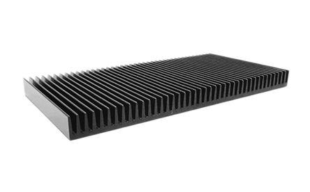 ABL Components Heatsink, Universal Square Alu, 0.23°C/W, 200 x 200 x 15mm, PCB Mount