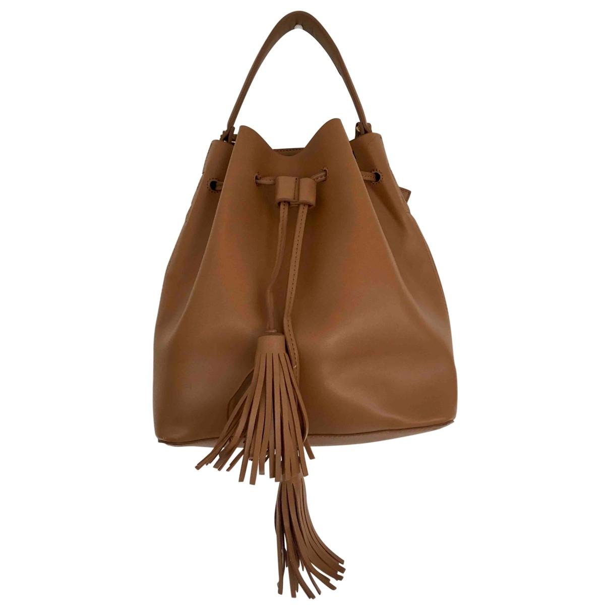 Mango \N Beige handbag for Women \N