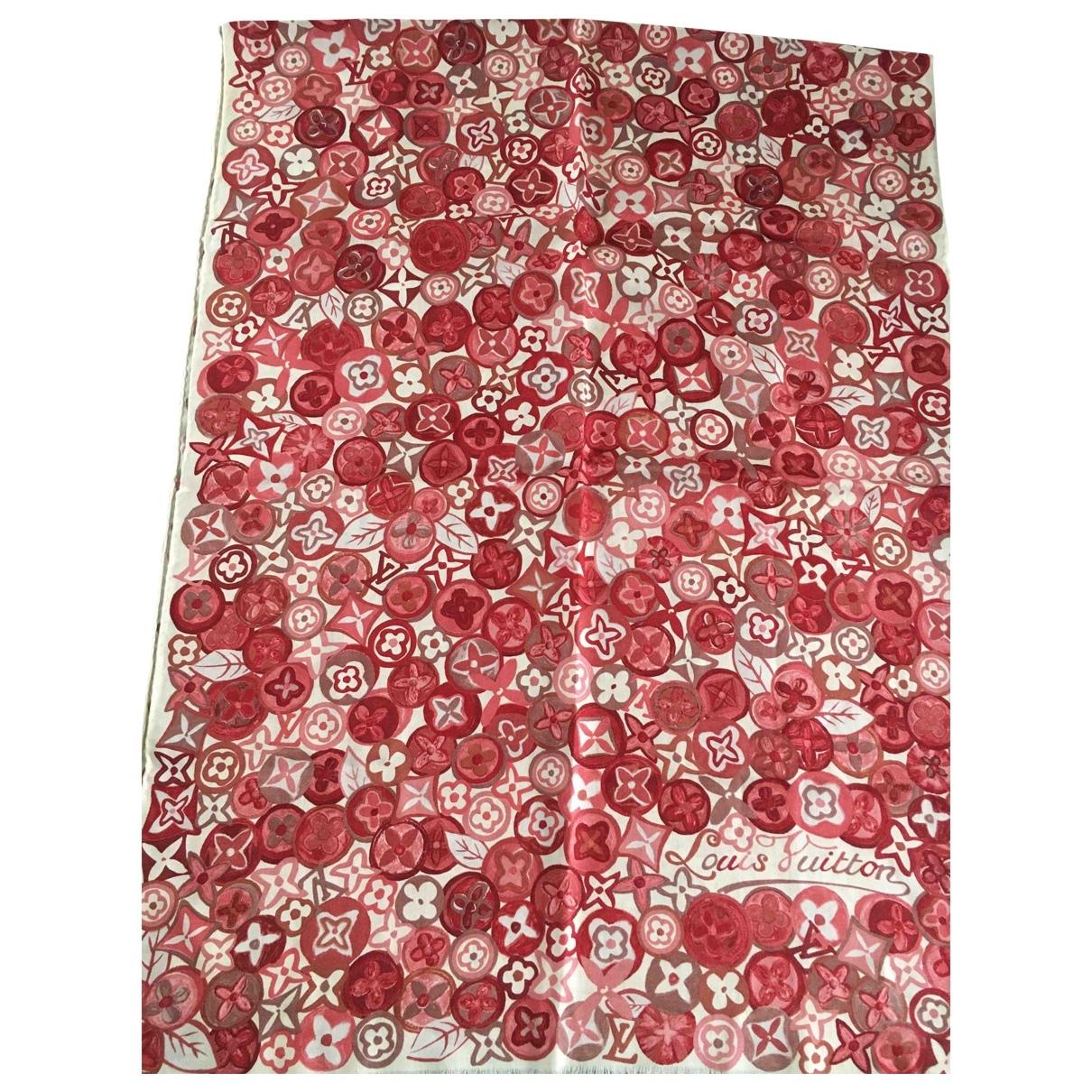 Louis Vuitton \N Schal in  Rot Kaschmir