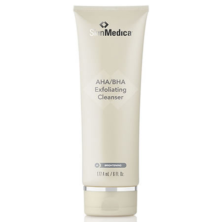 SkinMedica AHA/BHA Exfoliating Cleanser (CLEANSE) (BRIGHTENING) (6 oz / 177.4 ml)