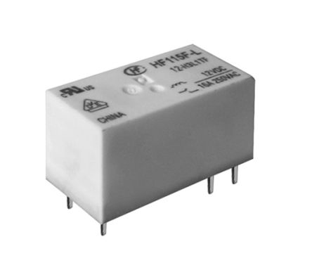 Hongfa Europe GMBH SPDT PCB Mount Latching Relay - 20 A, 20 A, 12V dc (50)