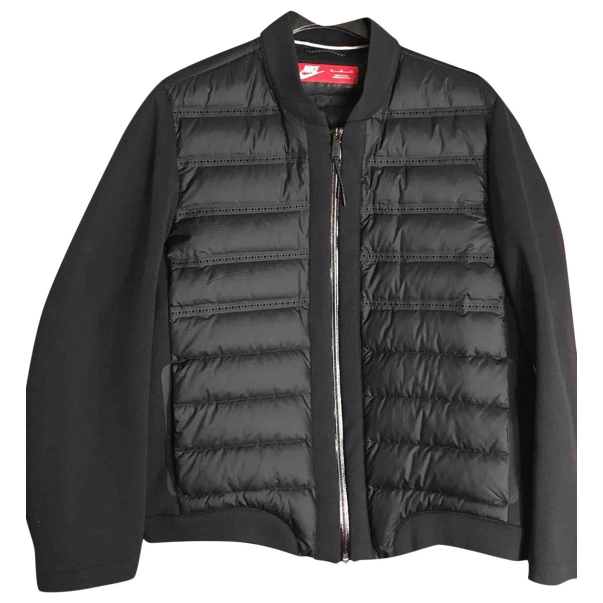 Nike \N Jacke in  Schwarz Baumwolle