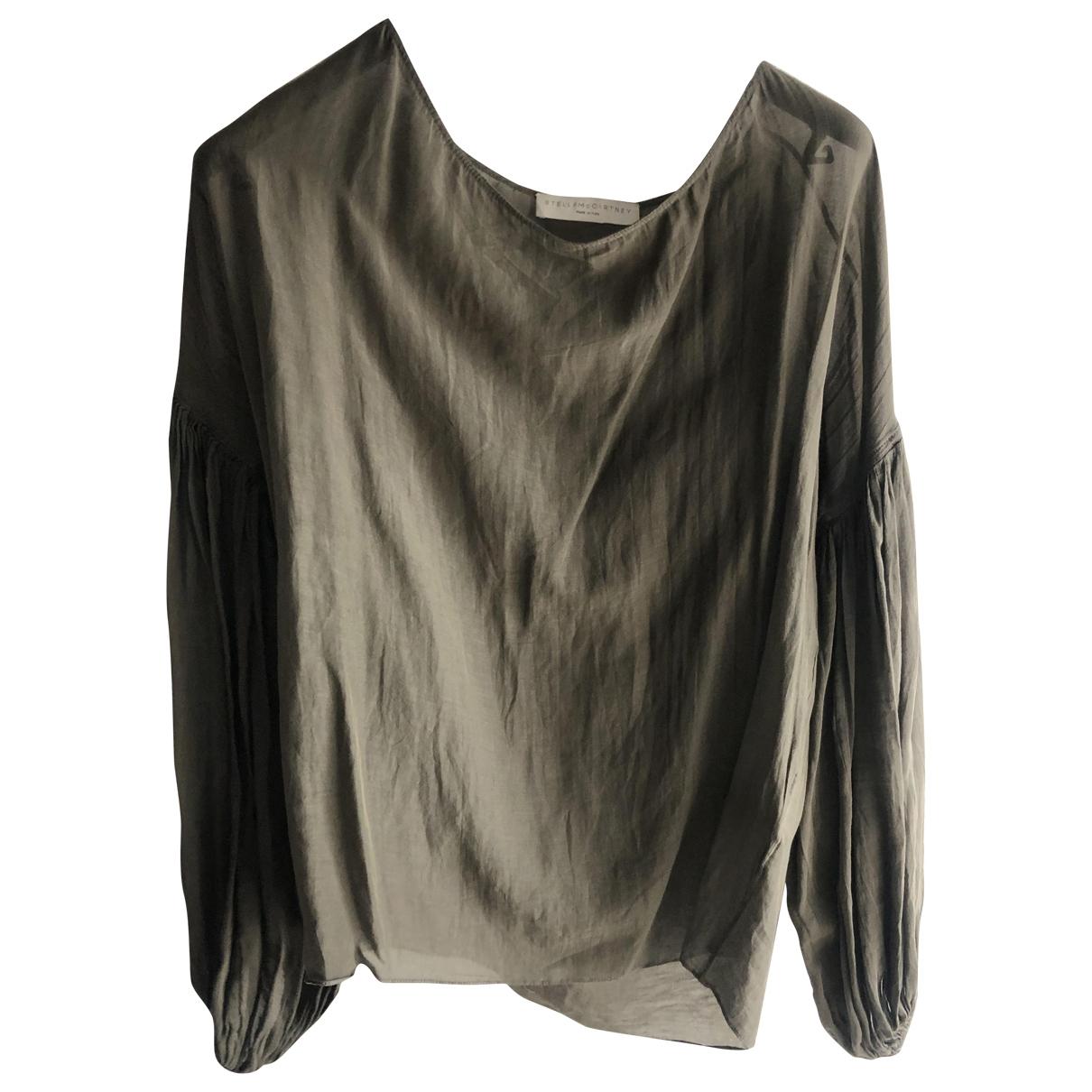 Stella Mccartney \N Khaki Cotton  top for Women 40 IT