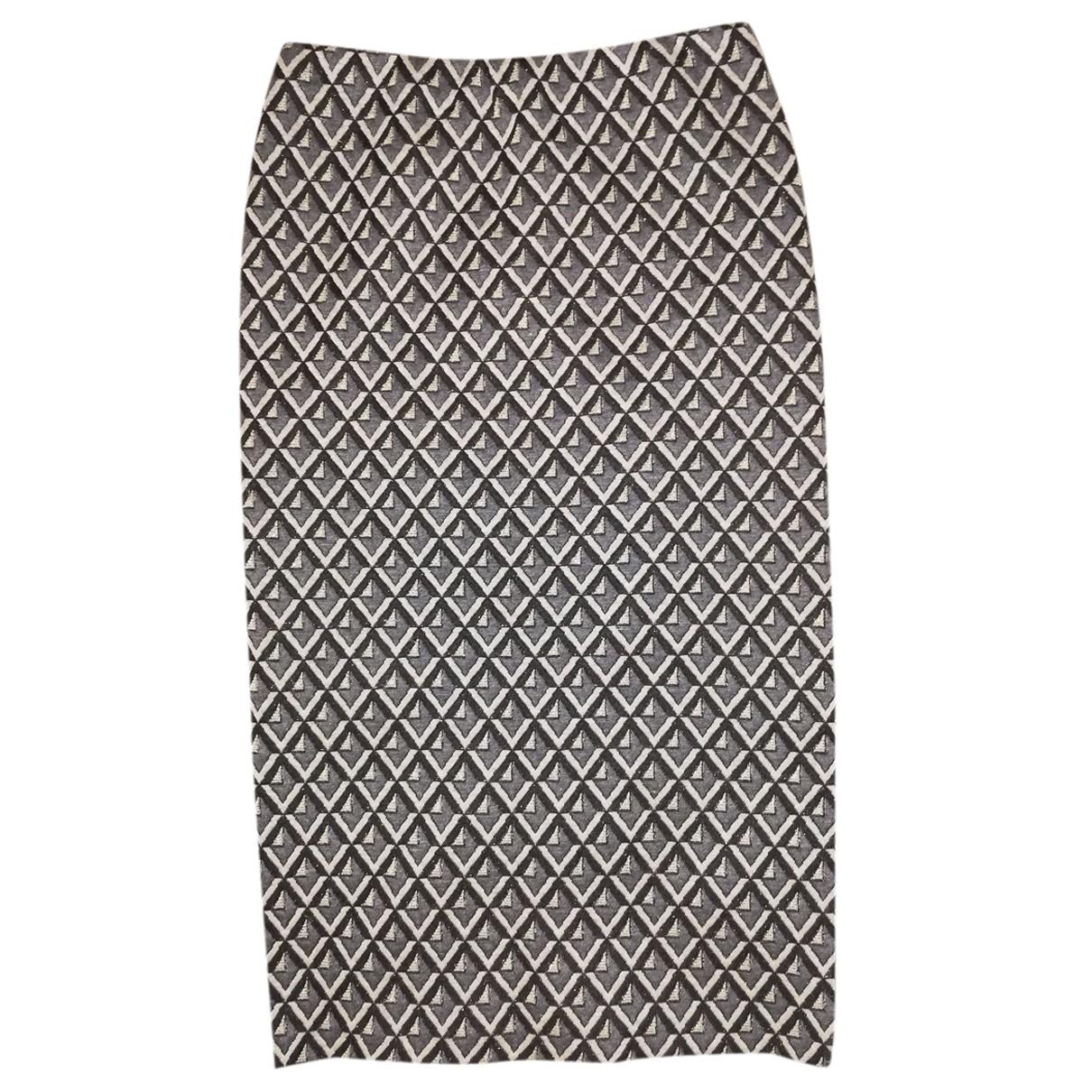 Non Signé / Unsigned N Multicolour Cotton skirt for Women M International