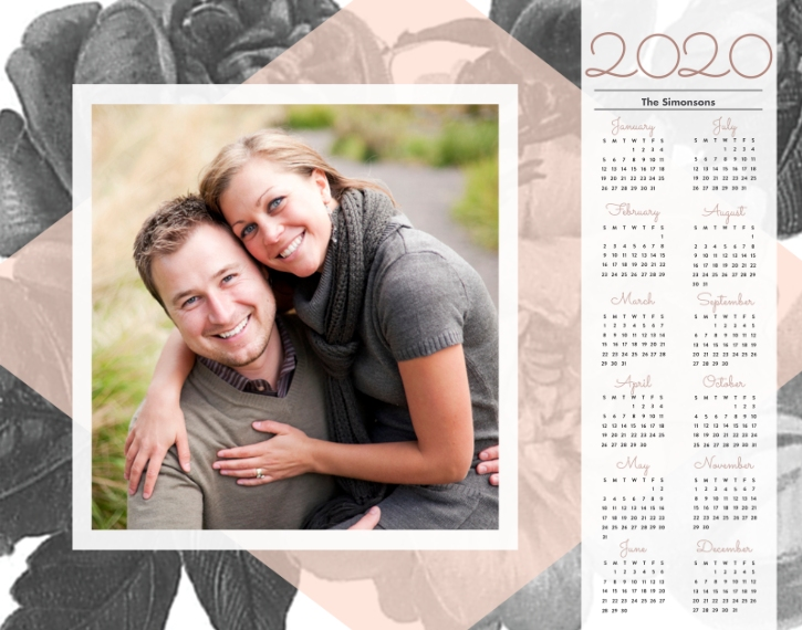 Calendar 11x14 Poster(s), Board, Home Décor -In Bloom