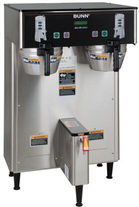34600.0006 Dual ThermoFresh DBC 120/208V Brewer With Funnel Locks  Energy Saver Mode  SplashGard  ThermoFresh  in Stainless