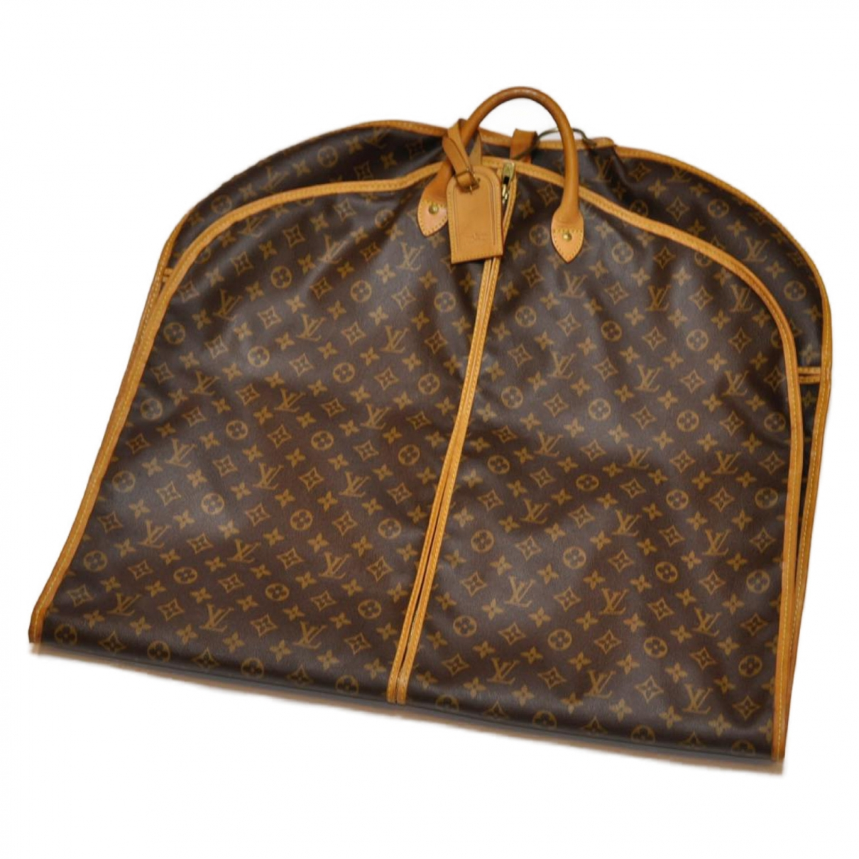 Louis Vuitton \N Brown Cloth bag for Men \N
