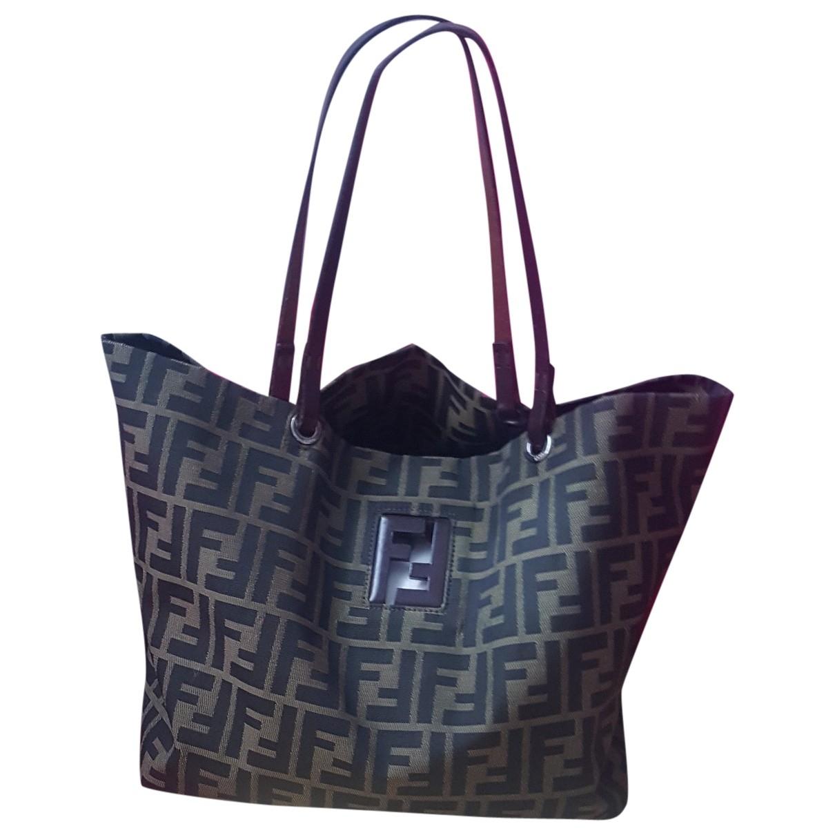 Fendi Roll Bag  Brown handbag for Women \N