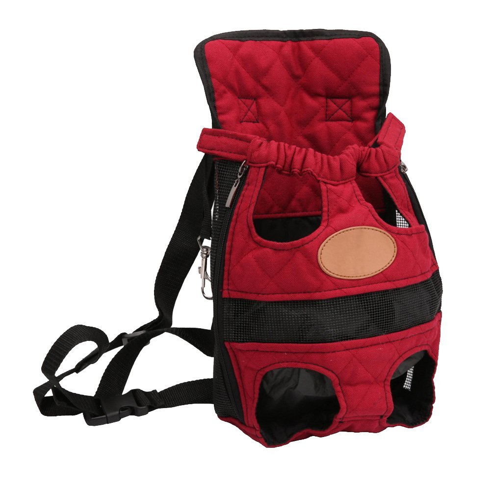 3 Colors Breathable Front Pet Travel Backpack Dog Cat Front Bag Outdoor Carrier