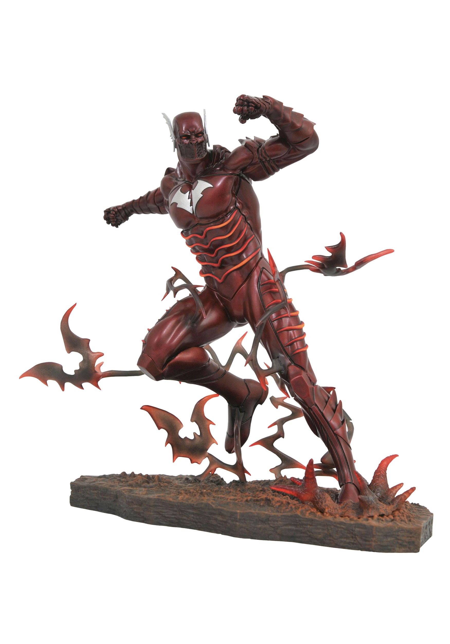Red Death Metal DC Gallery PVC Figure
