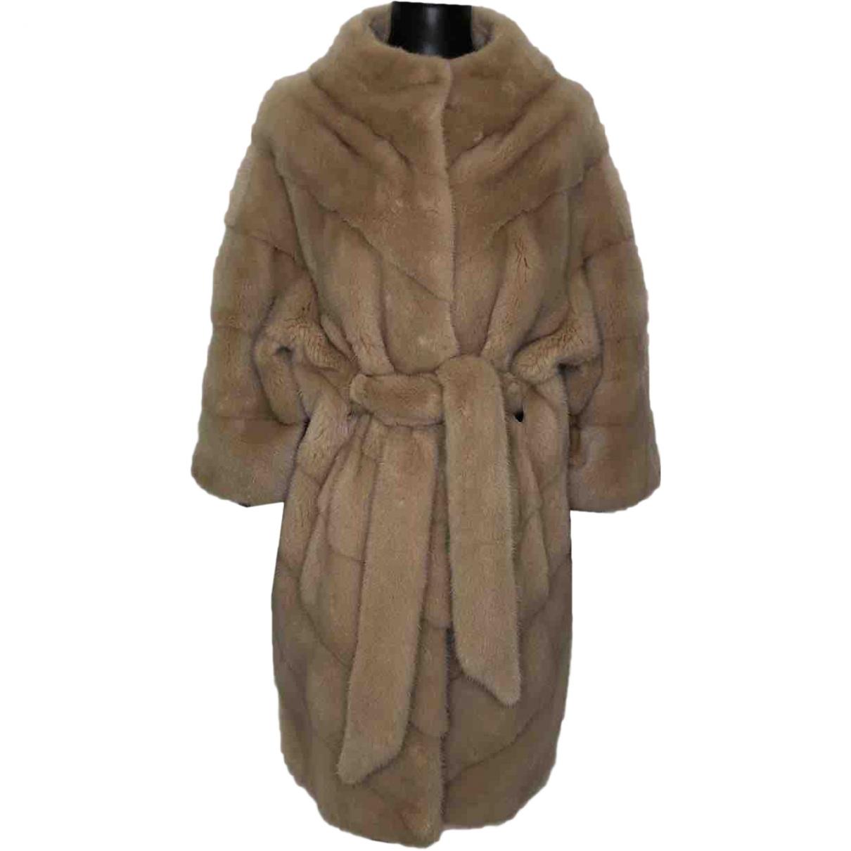 Braschi \N Beige Mink coat for Women S International