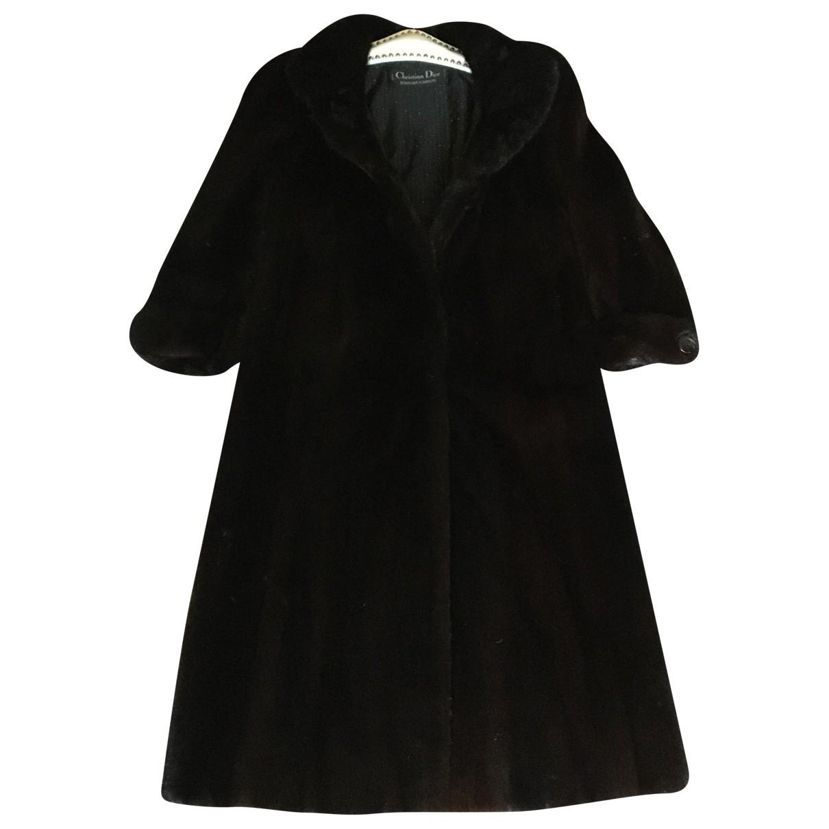 Dior \N Brown Fur coat for Women 40 FR