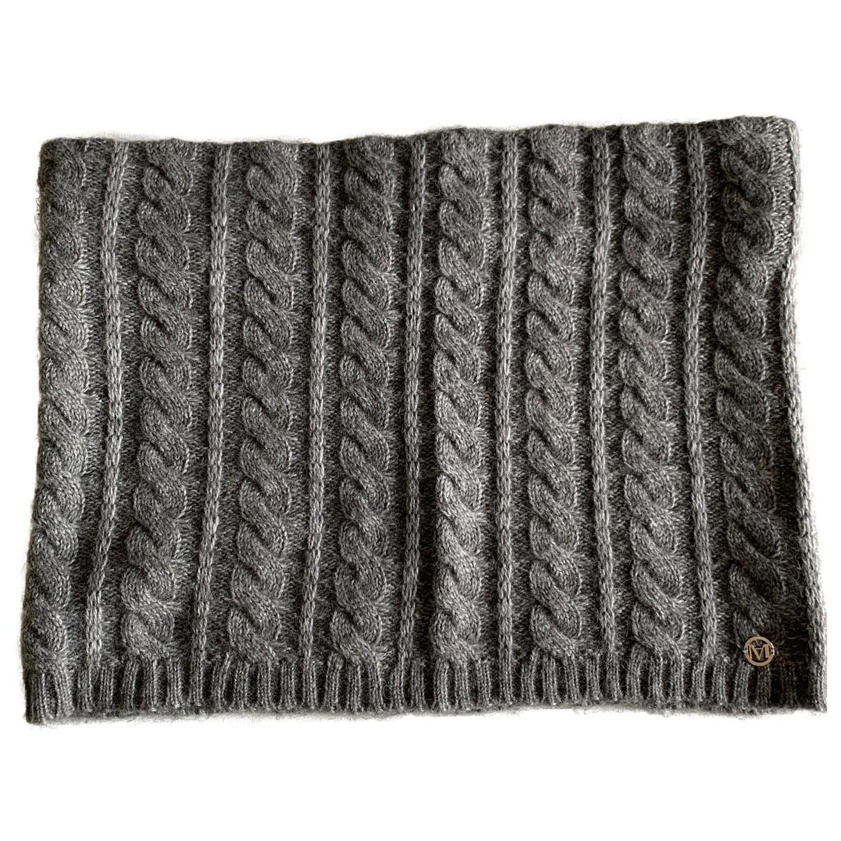Marella - Foulard   pour femme en laine - gris