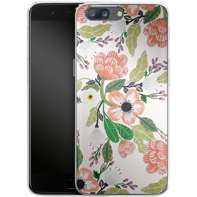 OnePlus 5 Silikon Handyhuelle - Botanical Dream von Iisa Monttinen