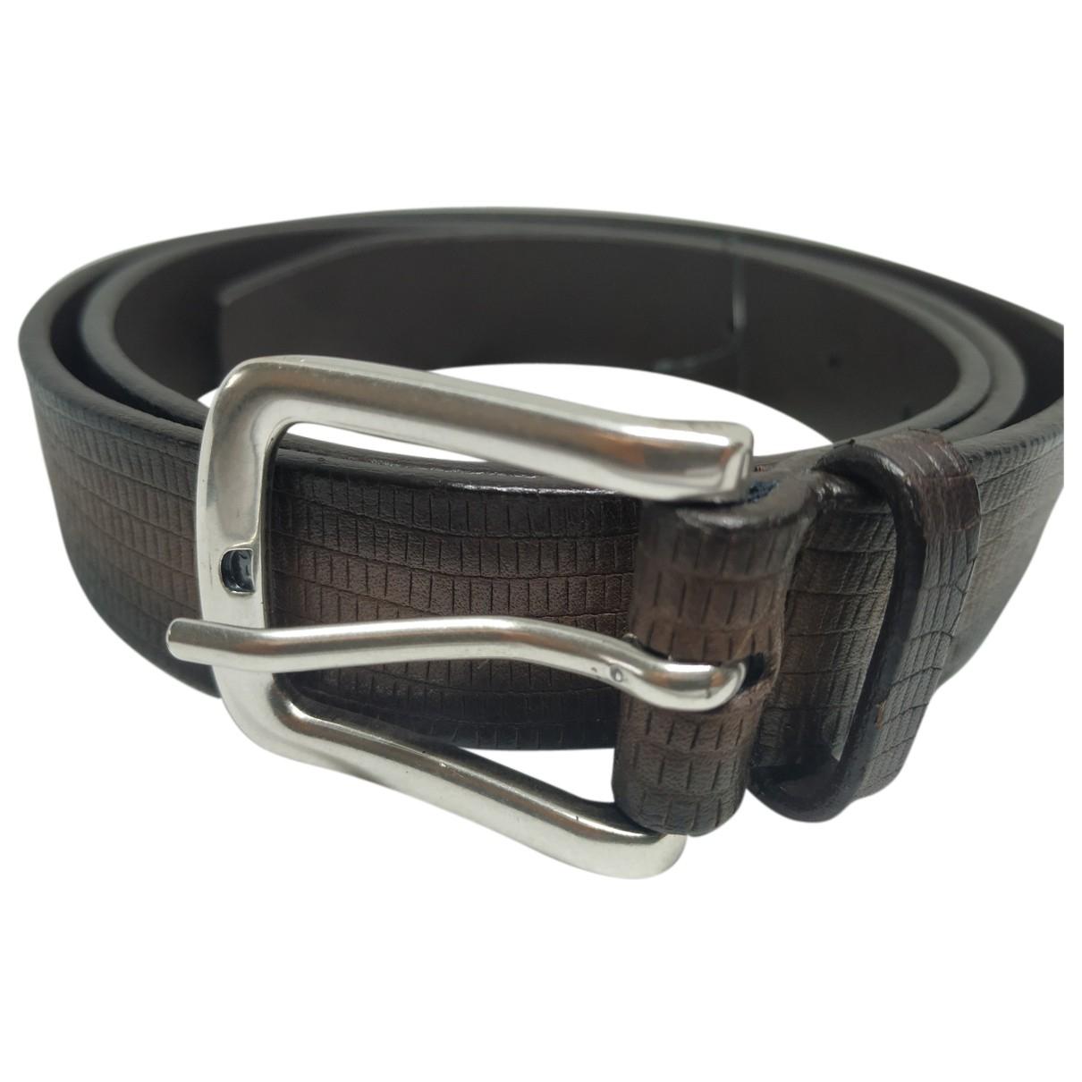 Cinturon de Cuero Orciani