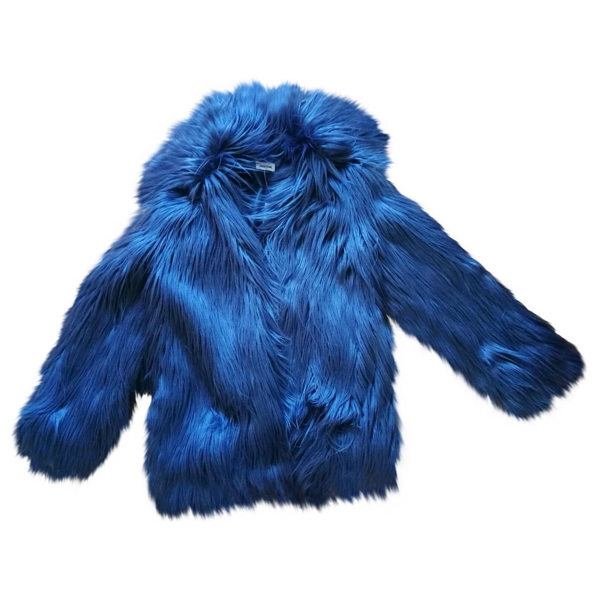 Zadig & Voltaire \N Maentel in  Blau Synthetikpelz