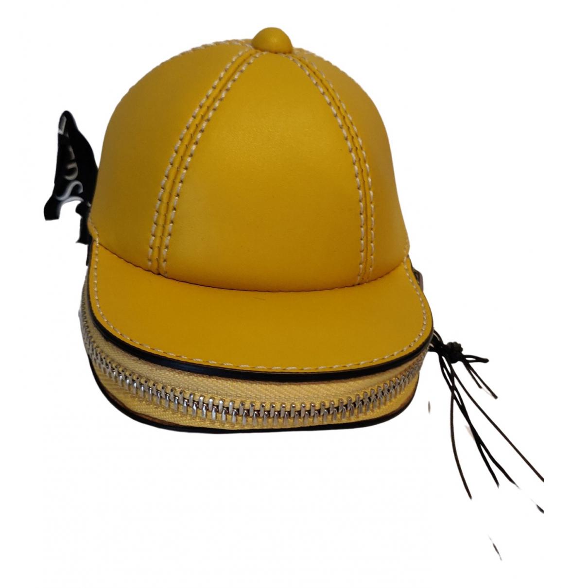 J.w. Anderson \N Handtasche in  Gelb Leder