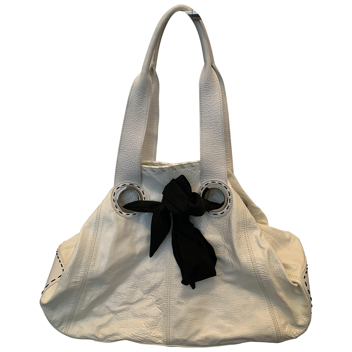 Jaeger \N Handtasche in  Weiss Leder