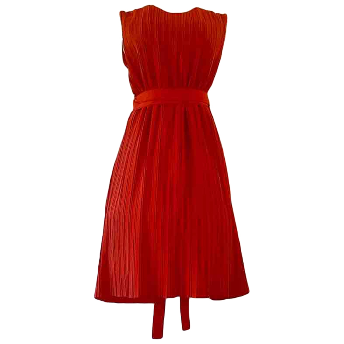 Victoria, Victoria Beckham \N Kleid in  Rot Polyester