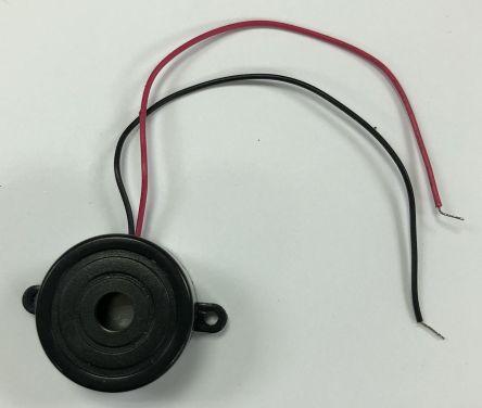RS PRO 73 (Minimum)dB Flange Mount Continuous Piezo Buzzer (2100)