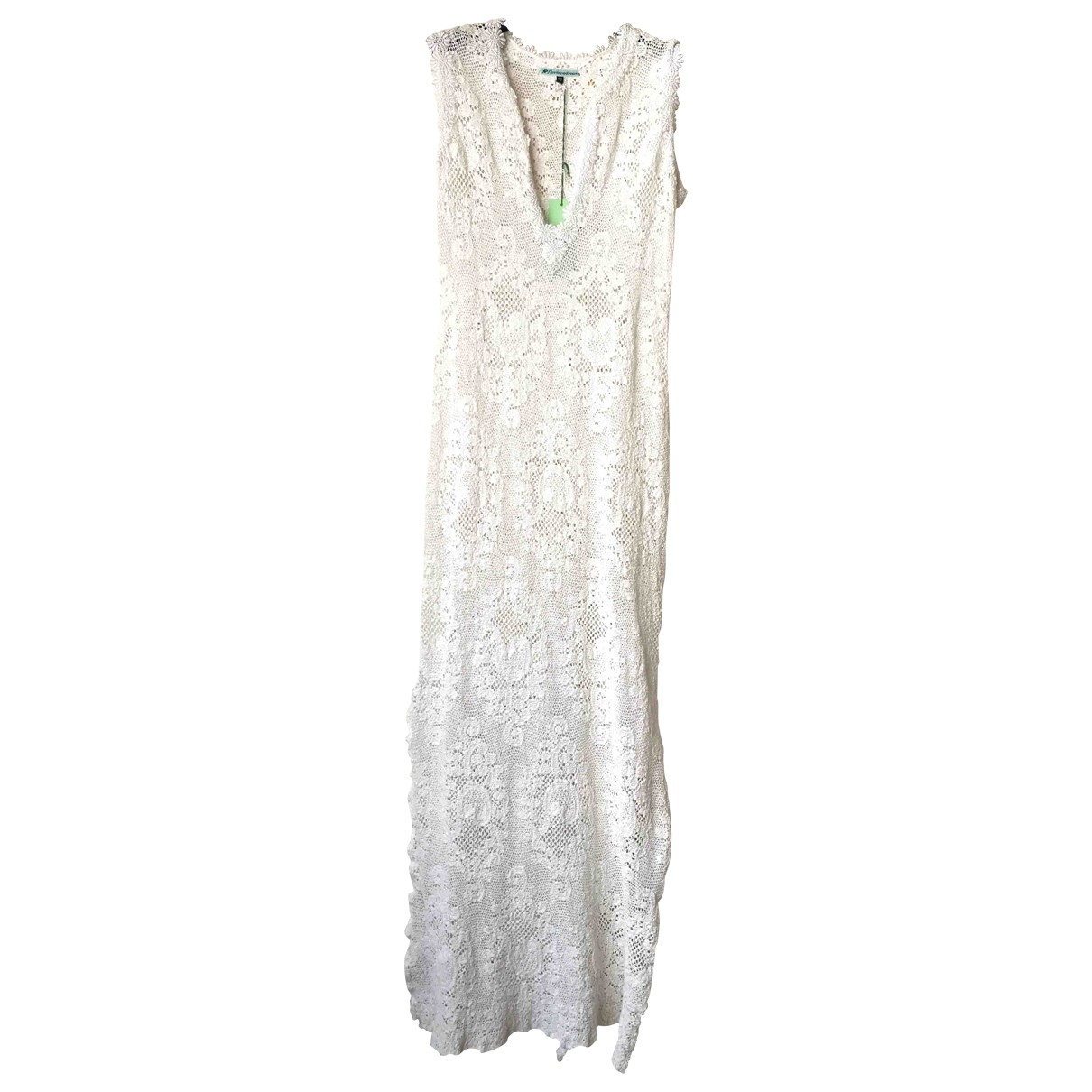 Non Signé / Unsigned \N White dress for Women 3 0-5
