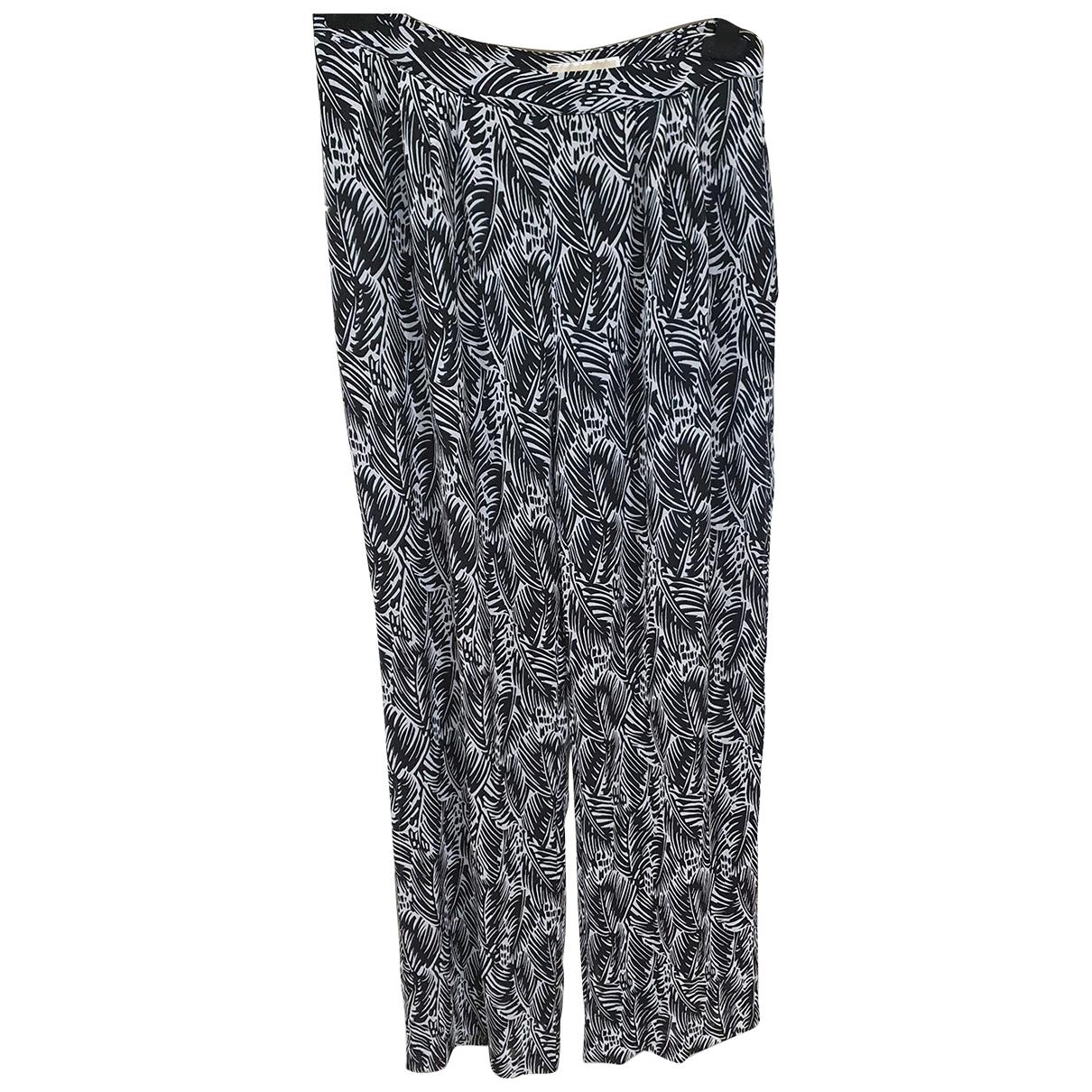 Michael Kors \N Black Trousers for Women L International