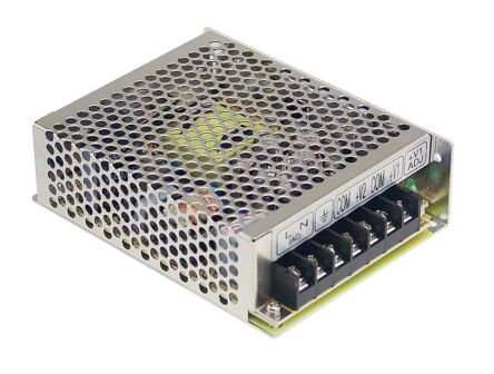 Mean Well , 54W Embedded Switch Mode Power Supply SMPS, 5 V dc, 12 V dc, Enclosed