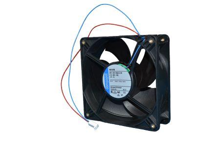 ebm-papst , 12 V dc, DC Axial Fan, 60 x 60 x 25mm, 41m³/h, 2.1W
