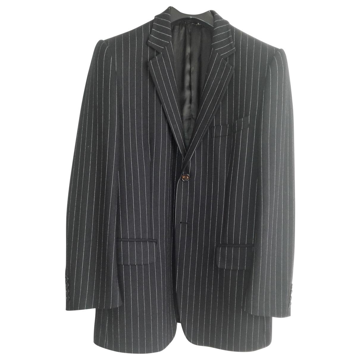 Dolce & Gabbana - Vestes.Blousons   pour homme en laine - bleu