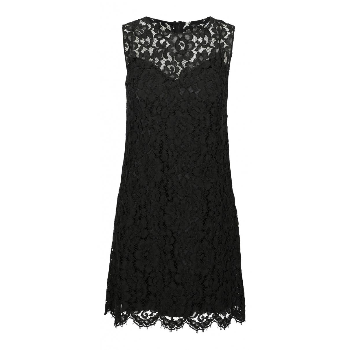 Dolce & Gabbana \N Black Cotton dress for Women 42 IT