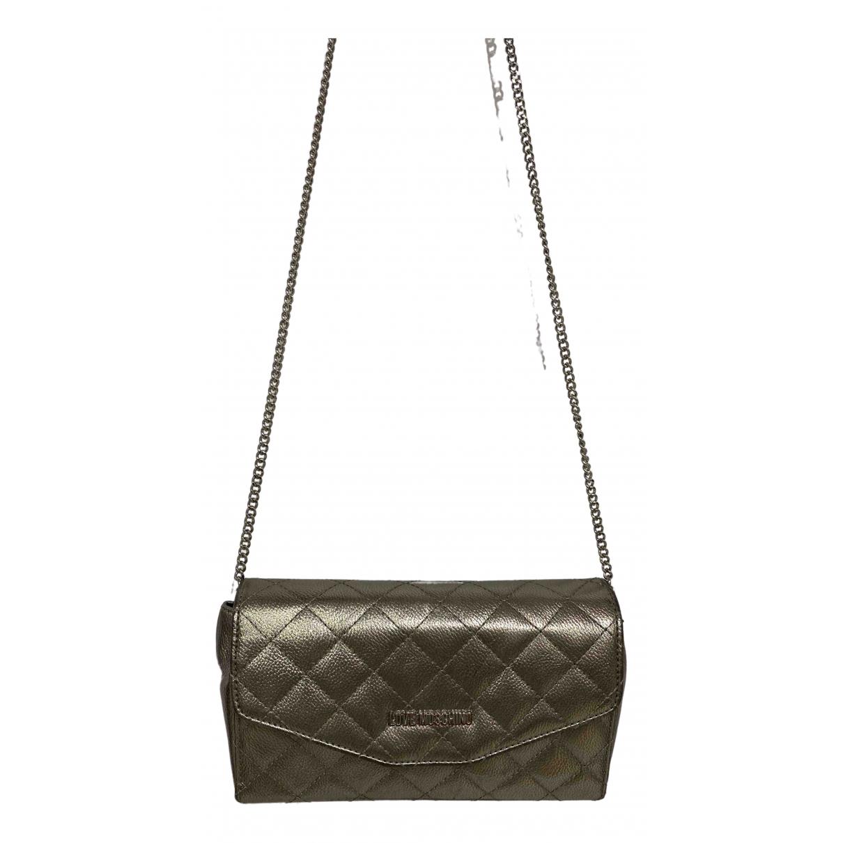 Moschino Love \N Silver Clutch bag for Women \N