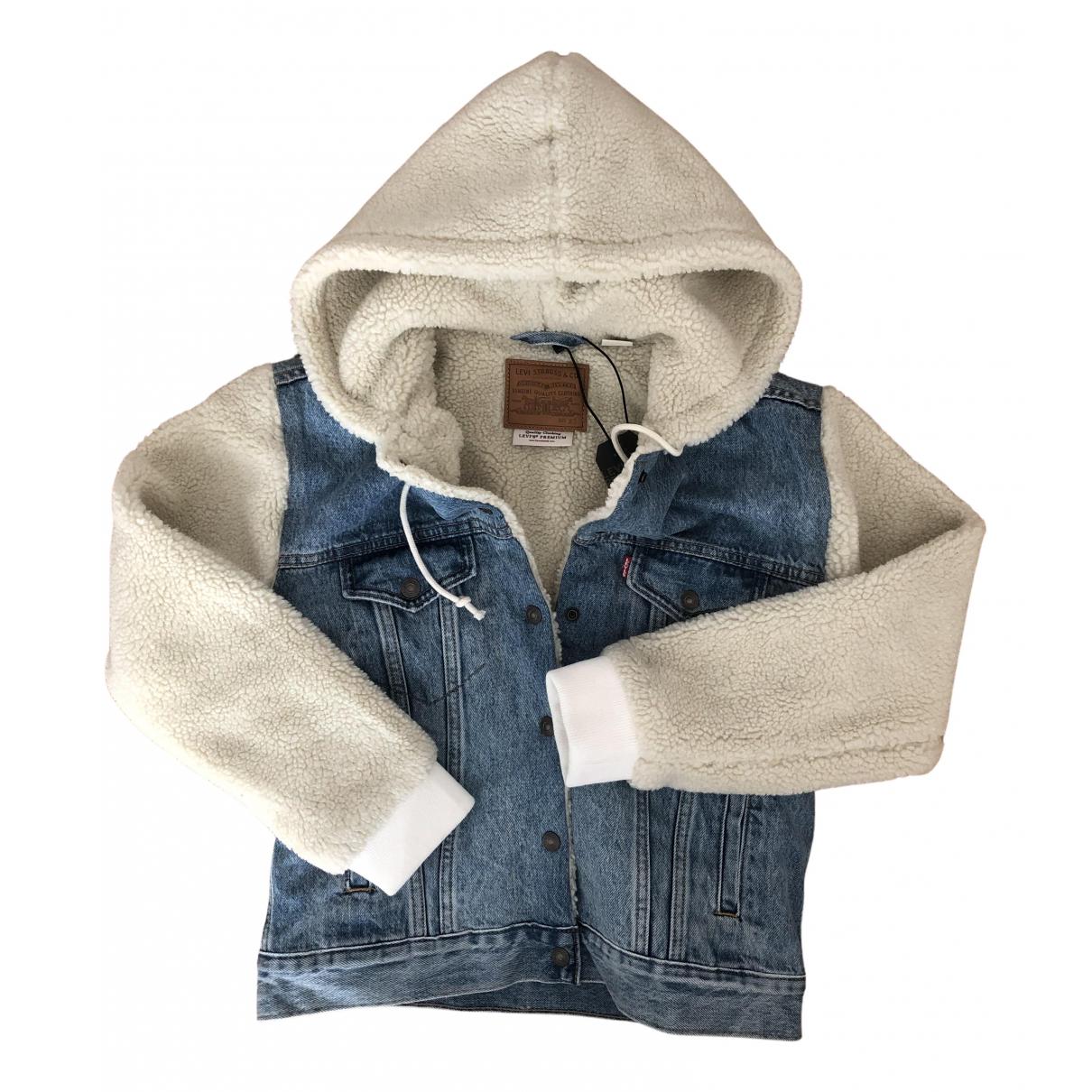 Levis N Blue Denim - Jeans jacket for Women XS International