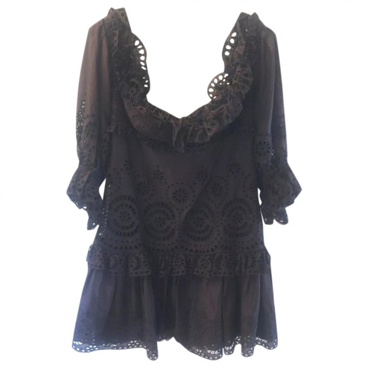 Tom Ford \N Kleid in  Braun Baumwolle