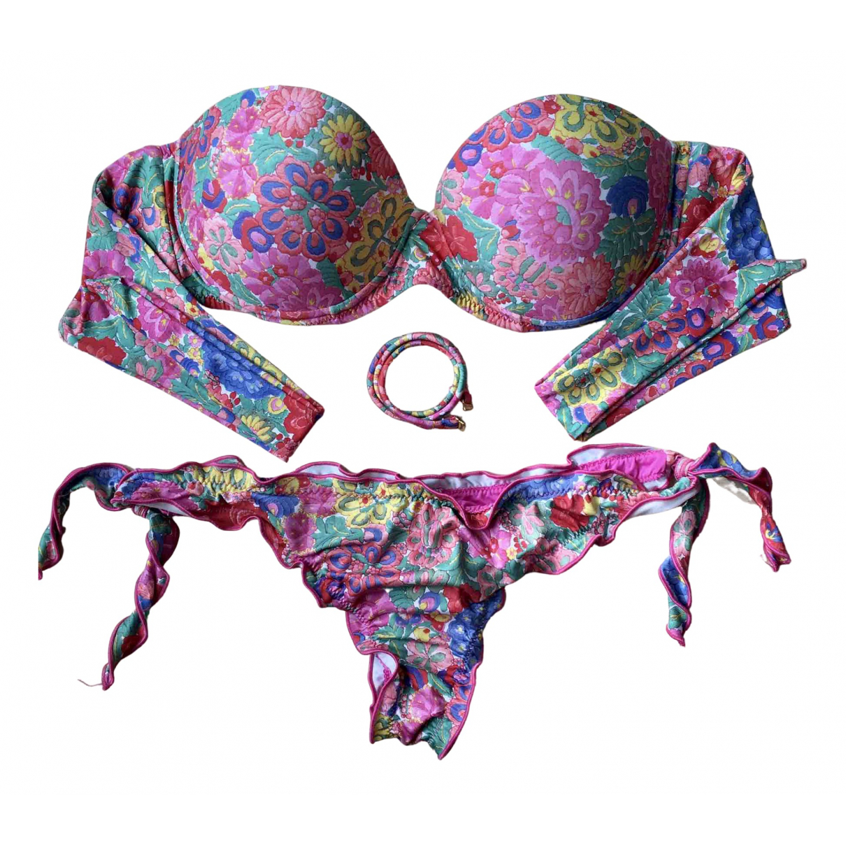 Bikini Lovers \N Badeanzug in  Bunt Synthetik