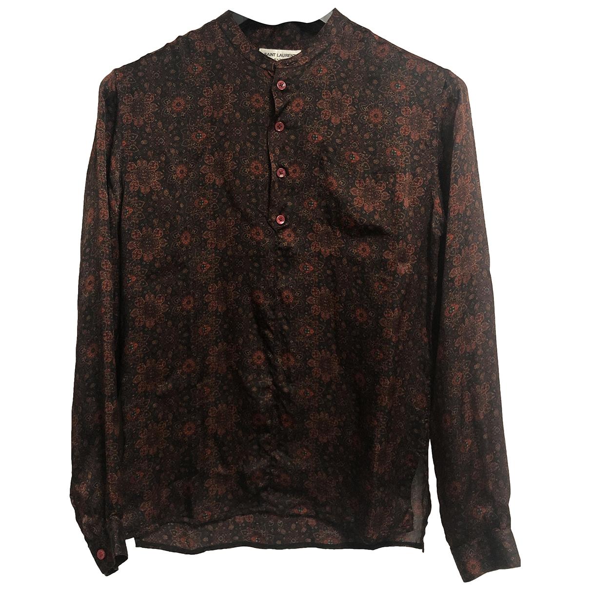 Saint Laurent - Chemises   pour homme en soie
