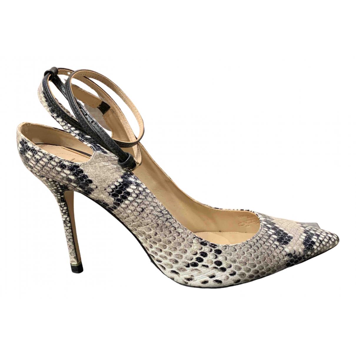 Massimo Dutti N Multicolour Leather Heels for Women 40 EU