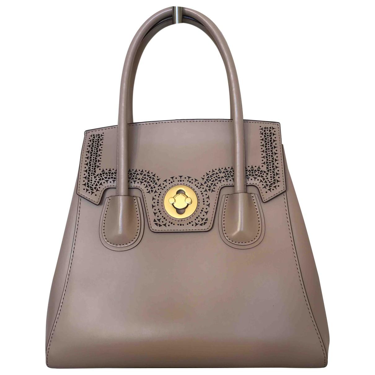 Karen Millen \N Leather handbag for Women \N