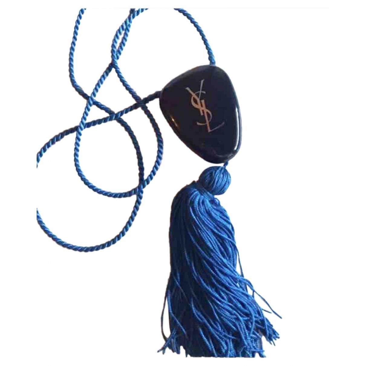 Yves Saint Laurent \N Blue necklace for Women \N