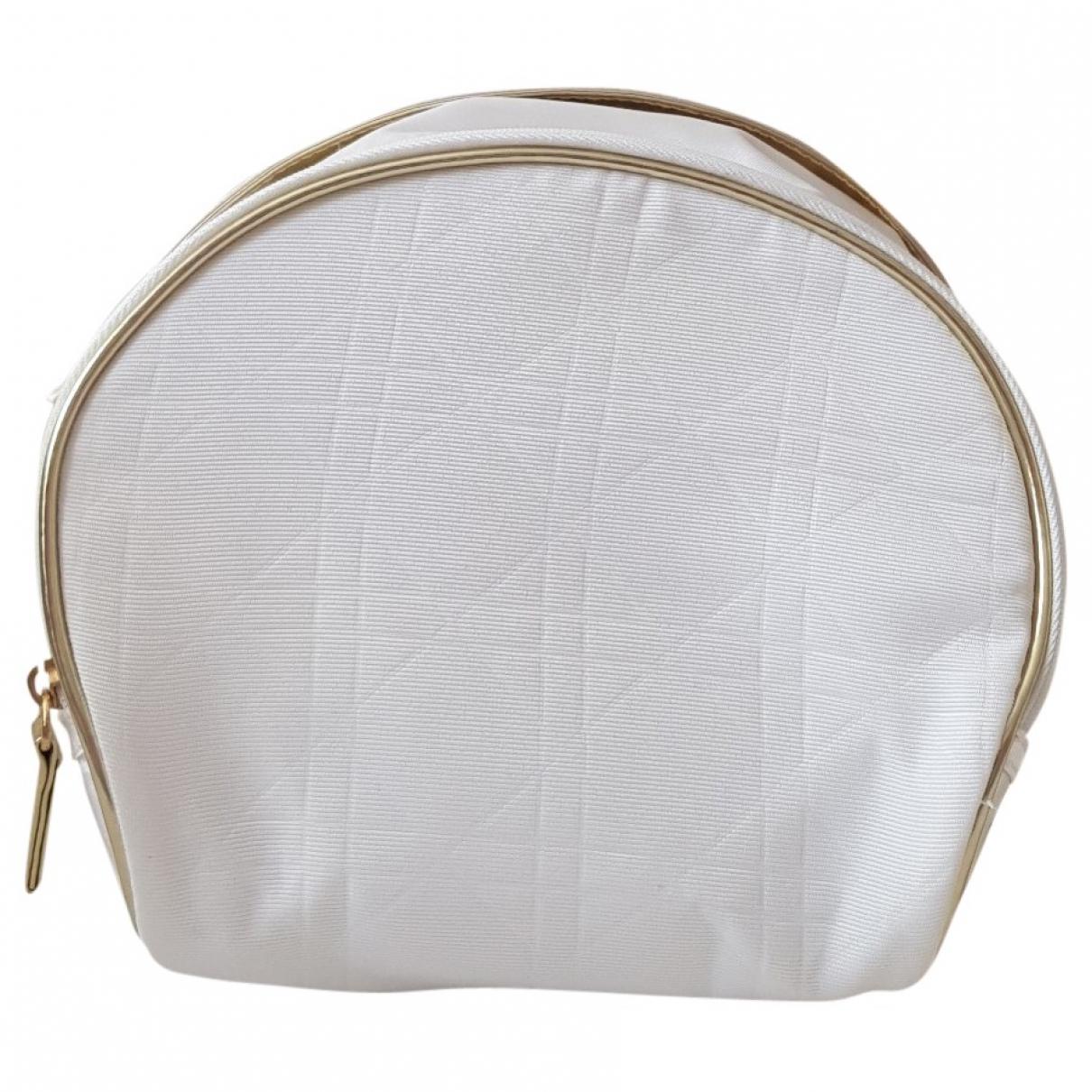 Dior - Sac de voyage   pour femme en toile - blanc