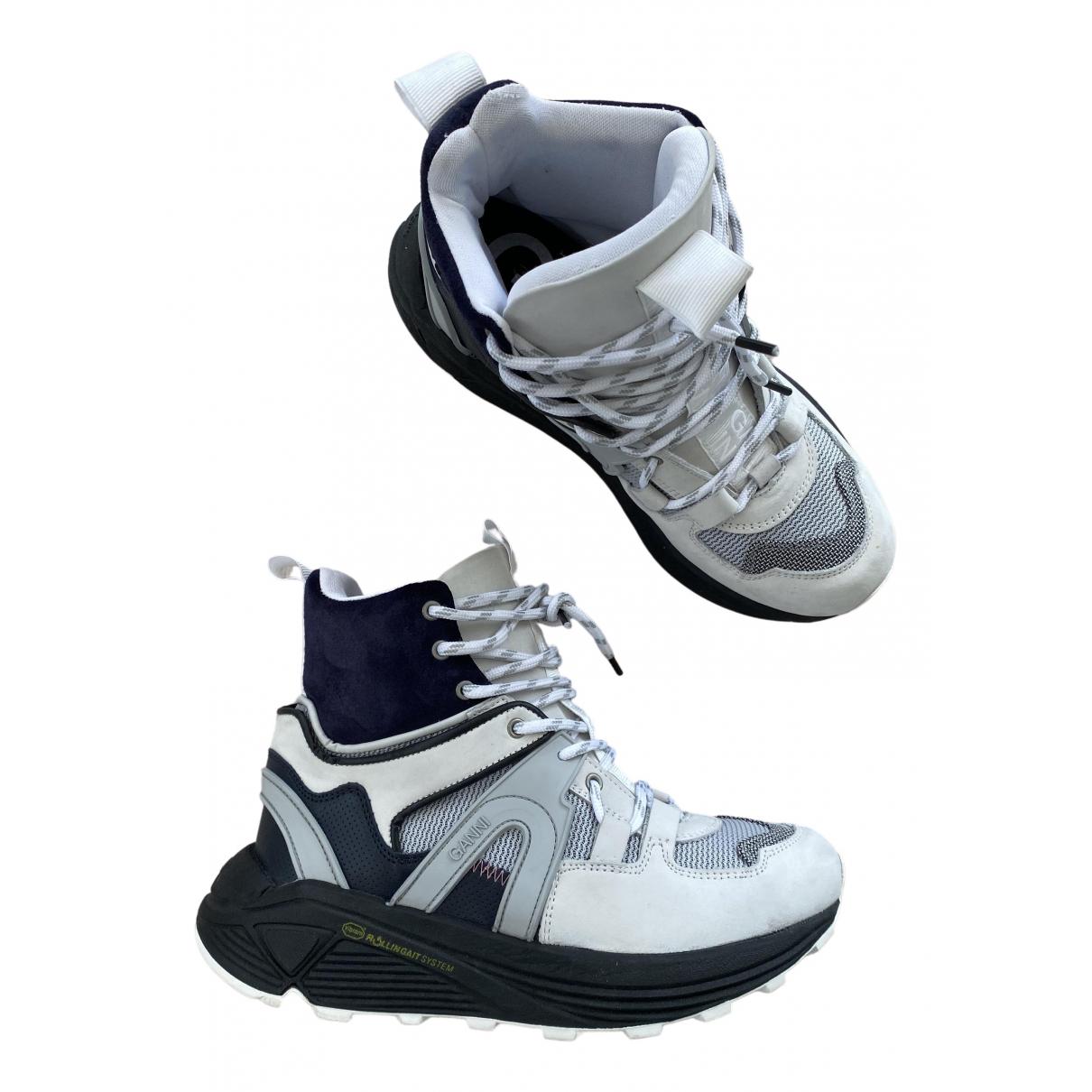 Ganni \N Sneakers in  Bunt Leder