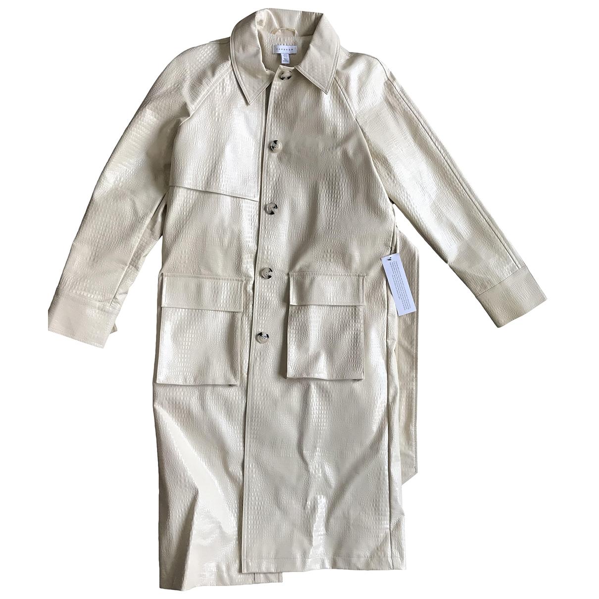 Topshop - Manteau   pour femme - ecru