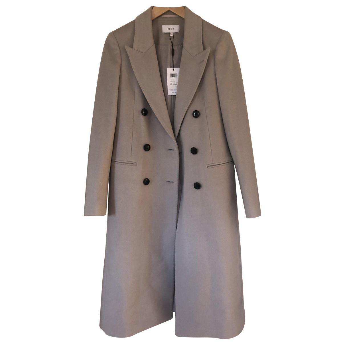 Reiss - Manteau   pour femme - gris