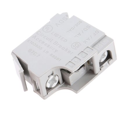 Merlin Gerin Auxiliary Contact - NO/NC, 1 Contact, 6 A