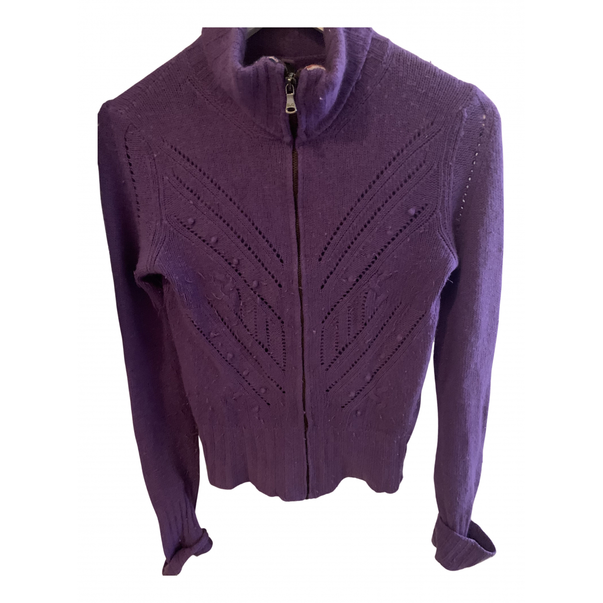 D&g N Purple Wool Knitwear for Women XS International