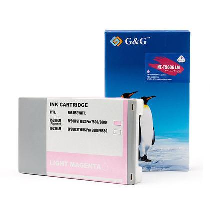 Epson T563600 T562600 cartouche d'encre compatible magenta clair pigment - G&G™