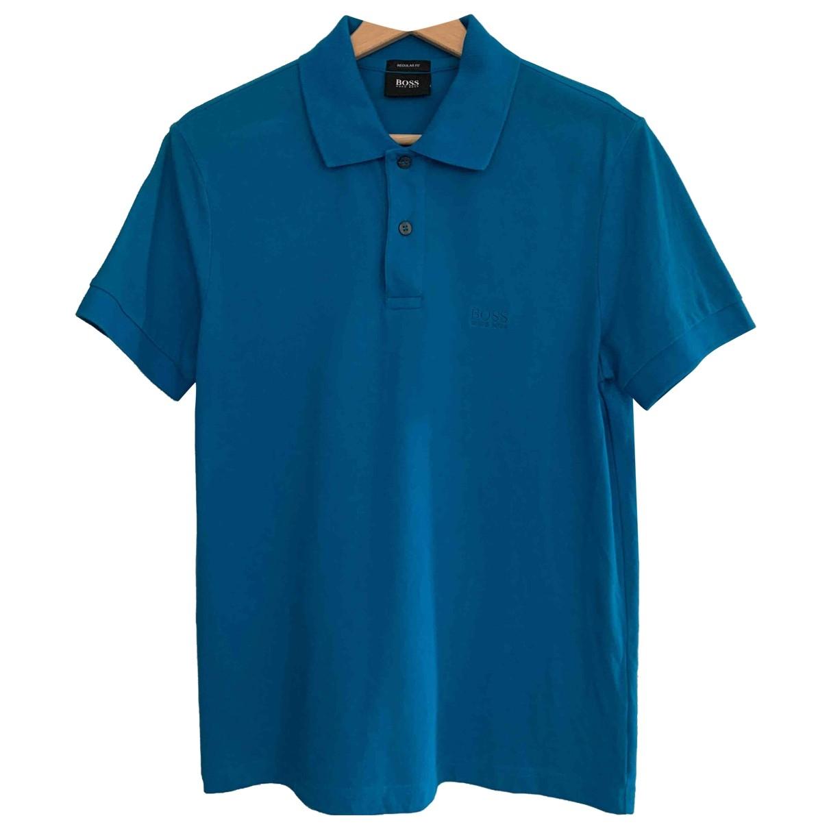 Boss \N Poloshirts in  Blau Baumwolle