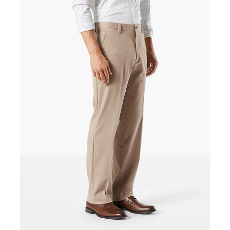 Dockers Big & Tall Classic Fit Easy Khaki Pants D3, 52 32, Brown