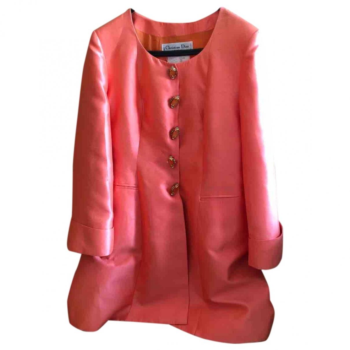Dior - Veste   pour femme en soie - rose